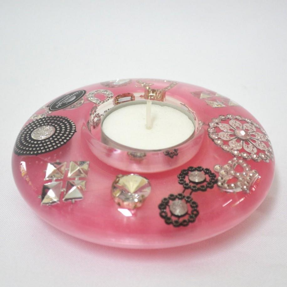 Ufo Mini Chic & Charms Glossy Teelichthalter