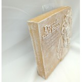 Poesie Tafel 16x16x3 cm Kunststein formano