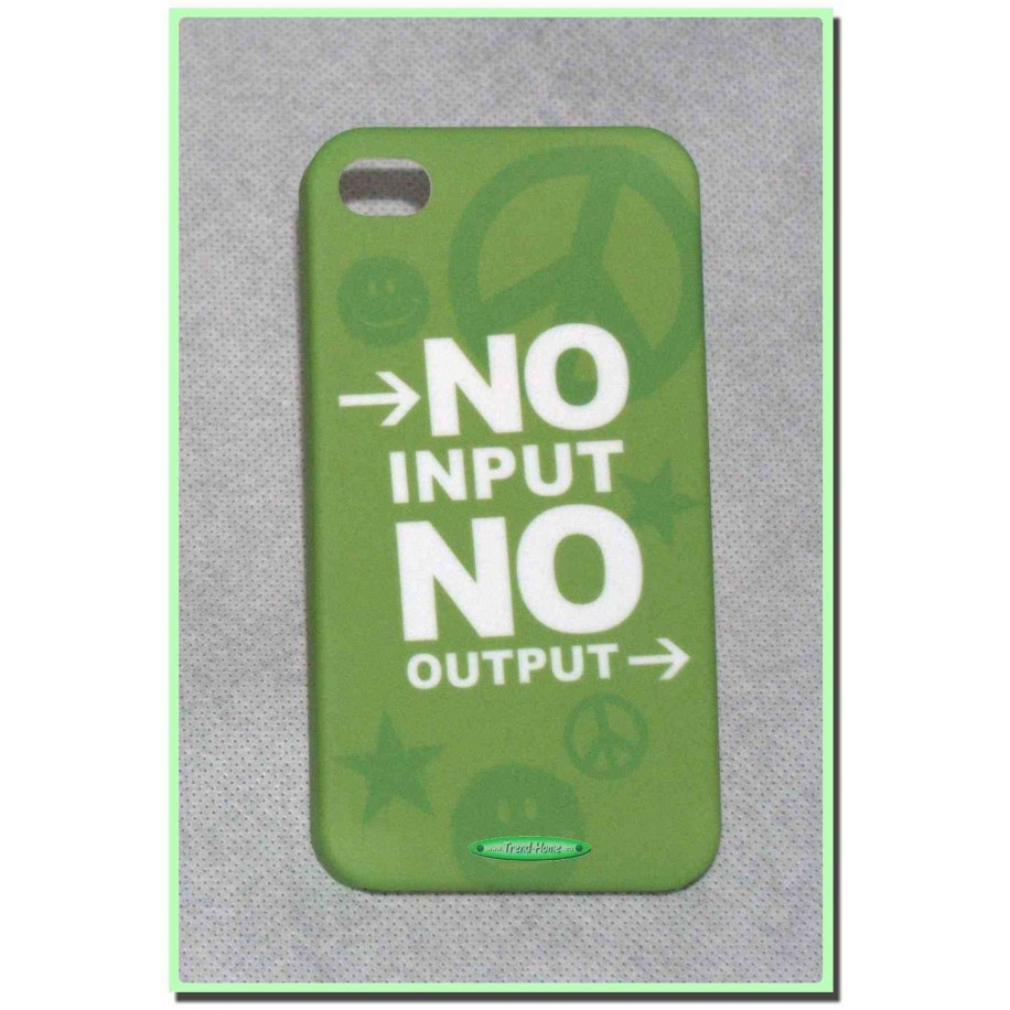 Cover No Input  ...  iPhone 4