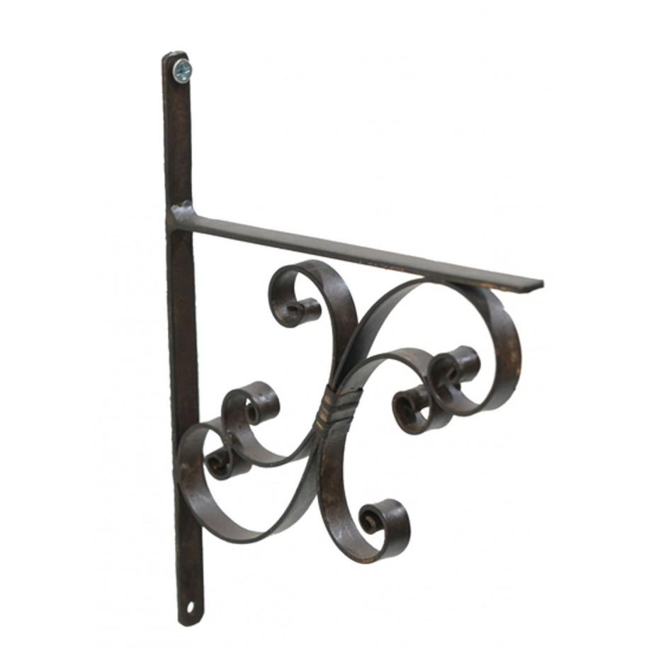 Wandregal Winkel aus Eisen