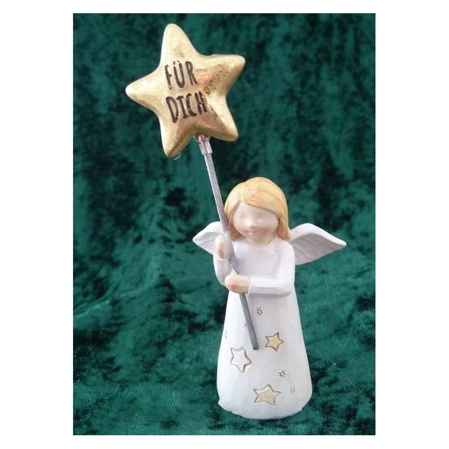 Engel Mutmacher mit Stern in der Hand