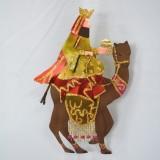 Hl.3 König auf Kamel aus Metall Krinkles