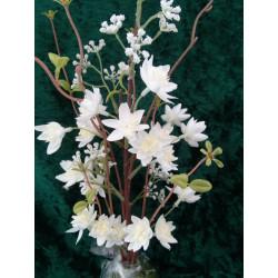 Hochrad als Blumenbank bunt lackiert