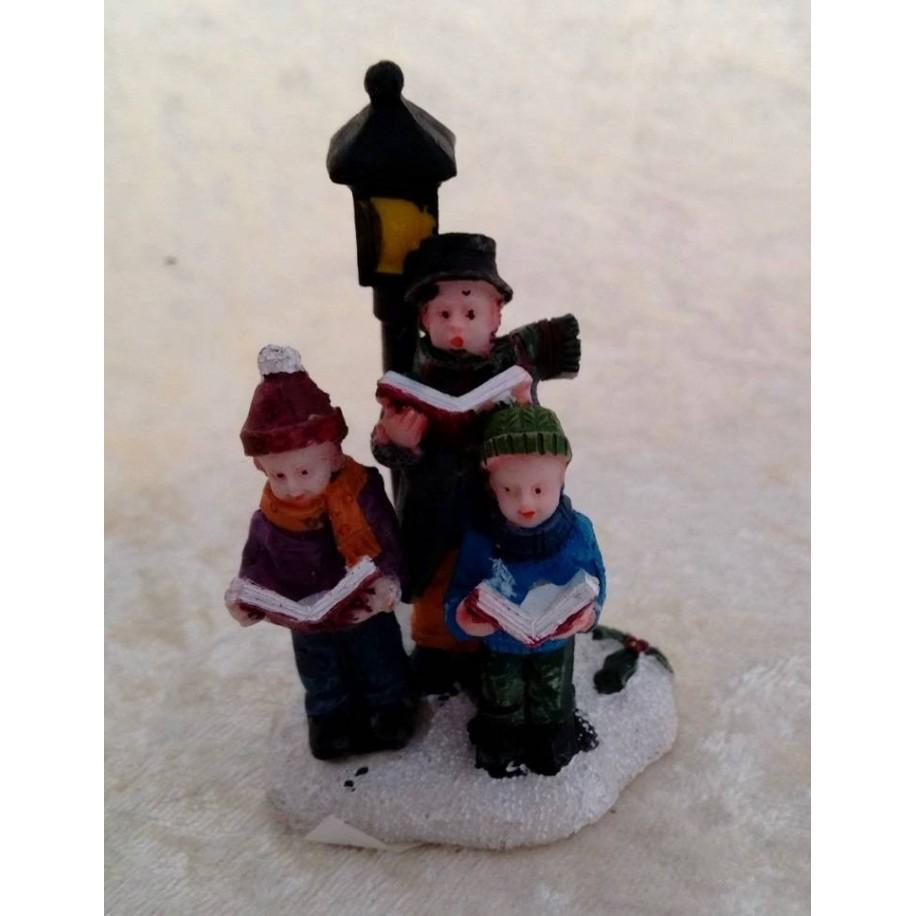 Miniatur Sängergruppe 7 cm hoch