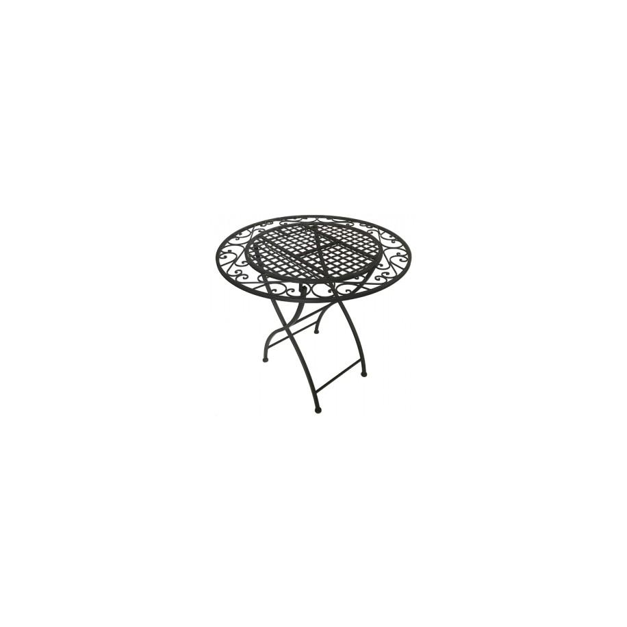 Tisch Miri 80 cm aus Metall