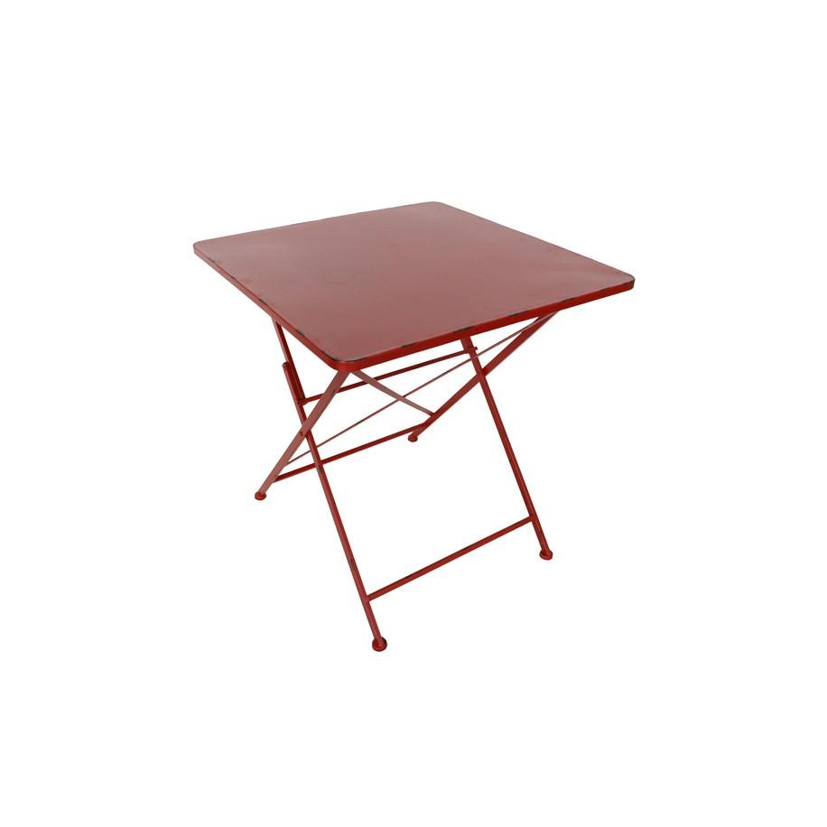 Tisch Margott dunkelrot