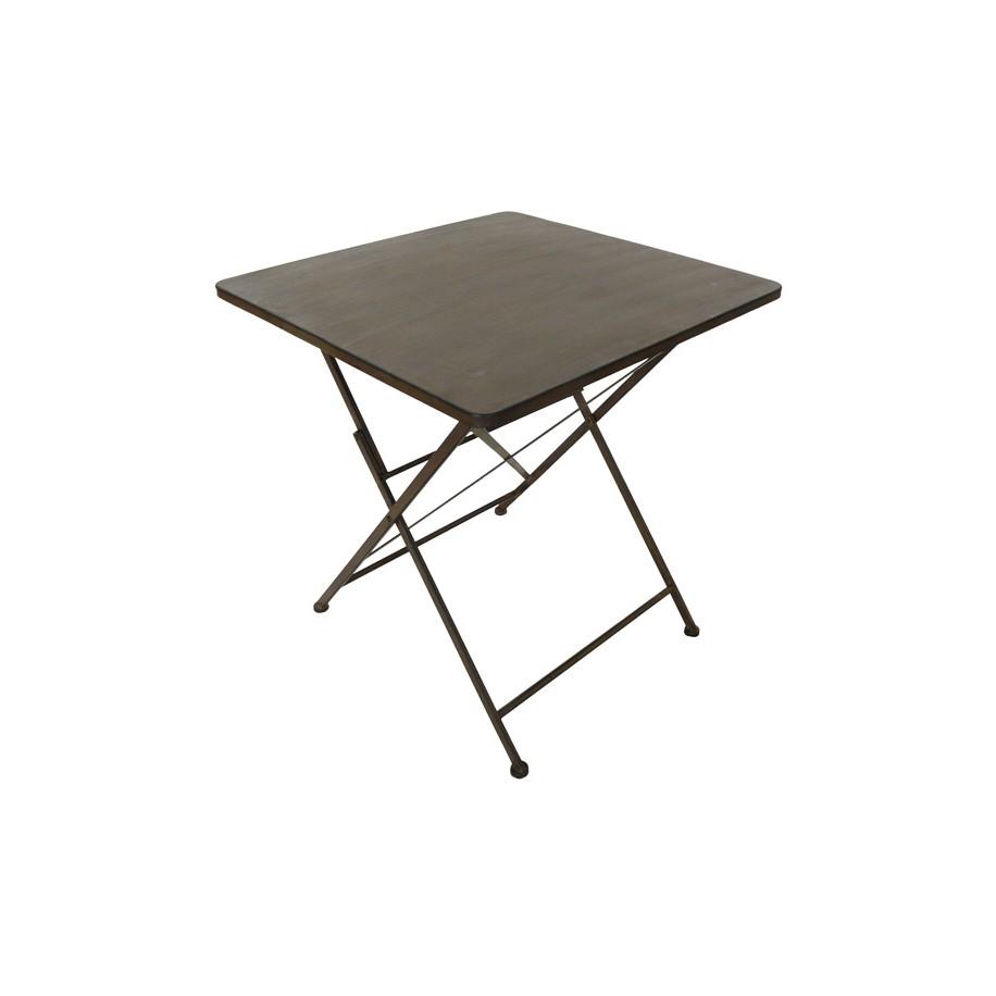 Tisch Margott anti dunkelbraun/schwarz