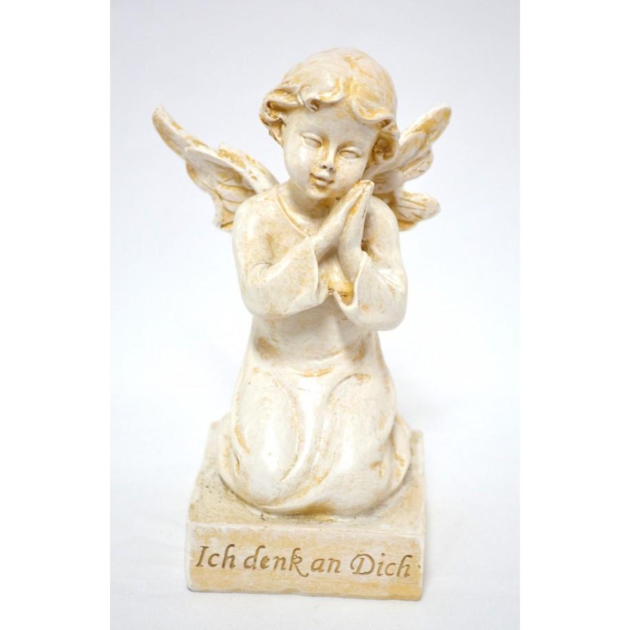 Grabschmuck Engel auf Sockel