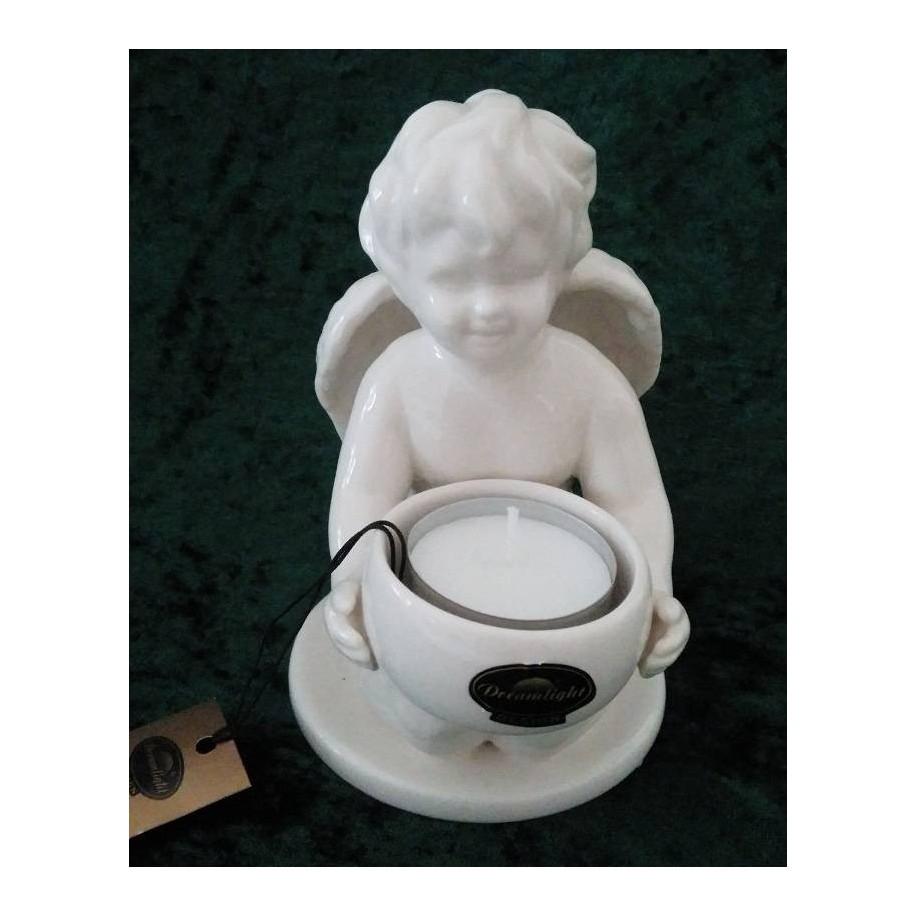 Engel mit Teelichthalter Gilde